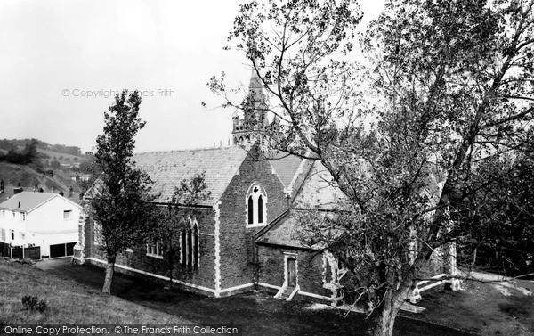 Ton Pentre, St David's Church c1960
