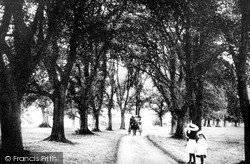 Tonbridge, Barden Park, The Avenue 1890