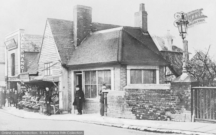 Photo of Tonbridge, Buley's Fishmongers, High Street c.1890