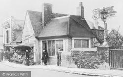 Buley's Fishmongers, High Street c.1890, Tonbridge