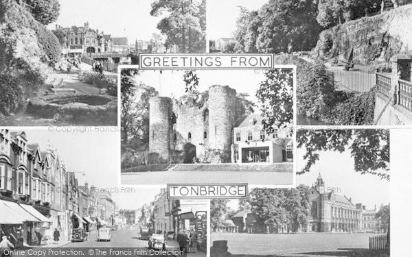 Photo of Tonbridge, Composite c.1955