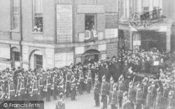 Tonbridge, Edward Vii Proclaimed King, Old Town Hall 1901