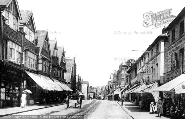 Photo of Tonbridge, High Street 1890