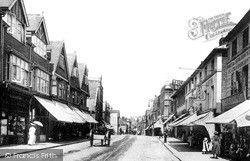 Tonbridge, High Street 1890