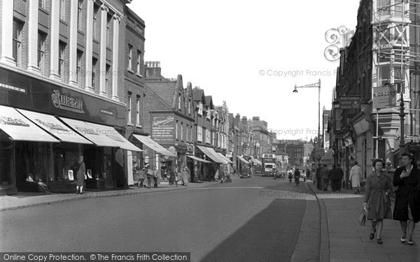Photo of Tonbridge, High Street 1948