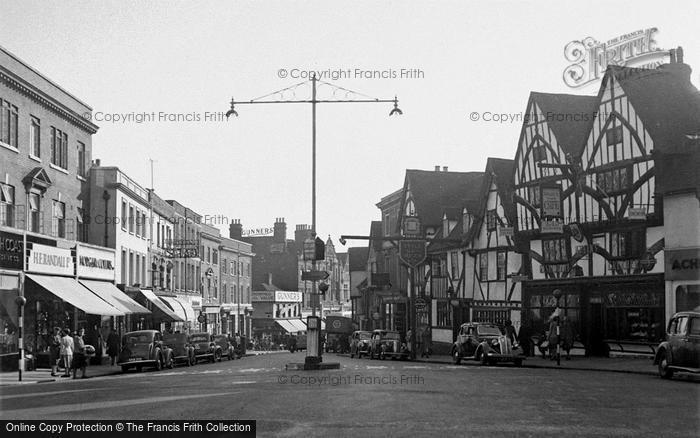 Photo of Tonbridge, High Street 1951