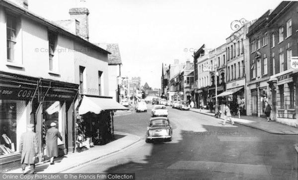 Photo of Tonbridge, High Street c.1960