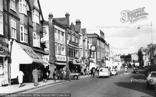 Photo of Tonbridge, High Street c.1965