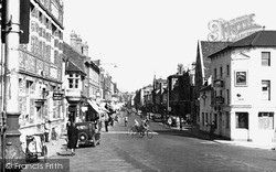Tonbridge, High Street From The Station 1948