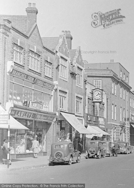Photo of Tonbridge, High Street Shops 1948