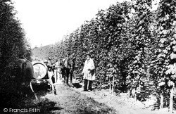 Tonbridge, Hop Washing 1890