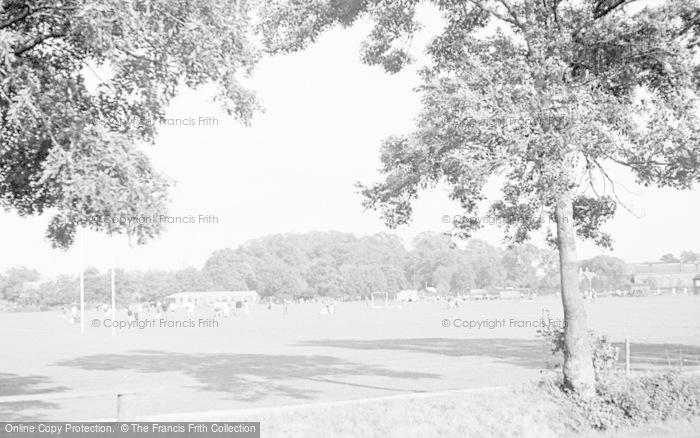 Photo of Tonbridge, Recreation Ground c.1950