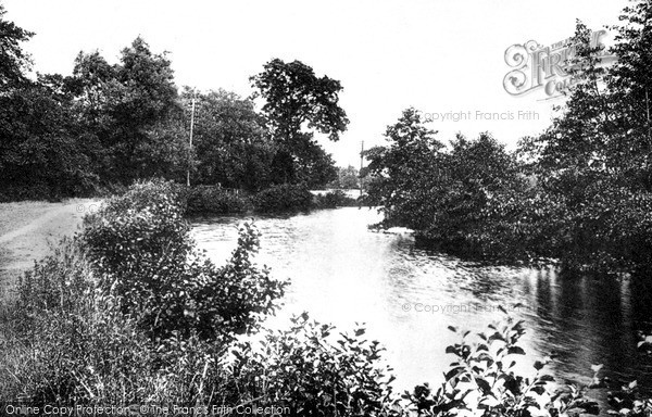 Photo of Tonbridge, River Medway 1890