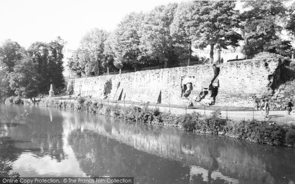 Photo of Tonbridge, Riverside c.1960