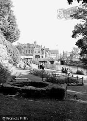 Tonbridge, Riverside Gardens 1948