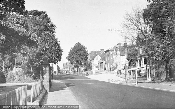 Photo of Tonbridge, Shipbourne Road 1948