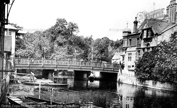 Photo of Tonbridge, The Bridge 1890