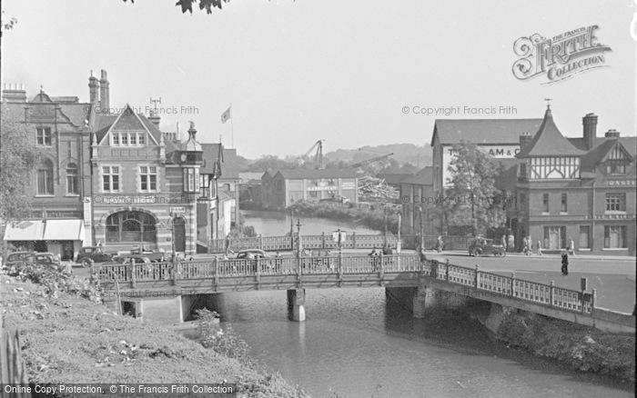 Photo of Tonbridge, The Bridge 1948