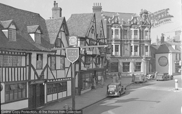 Photo of Tonbridge, The Chequers 1948