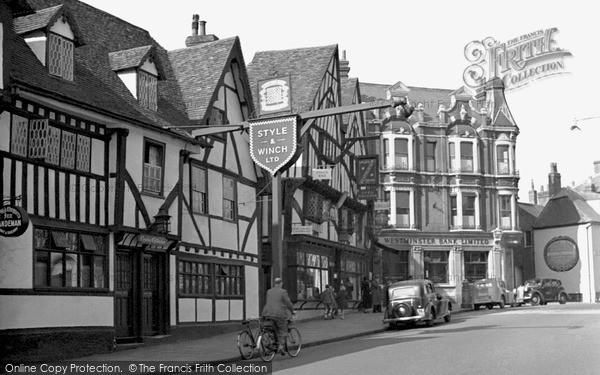 Photo of Tonbridge, The Chequers 1948