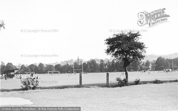 Photo of Tonbridge, The Recreation Ground c.1950