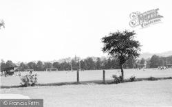 The Recreation Ground c.1950, Tonbridge