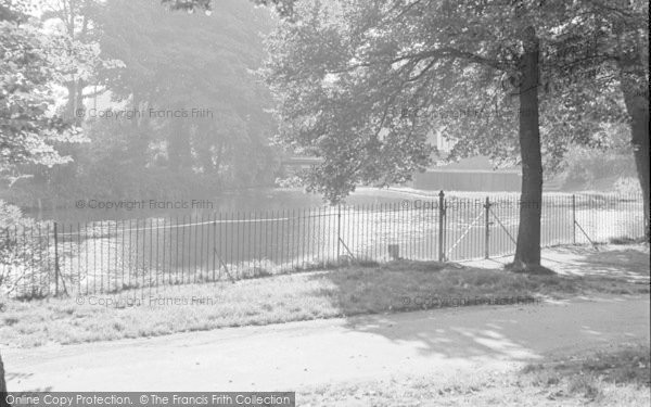 Photo of Tonbridge, The River 1951