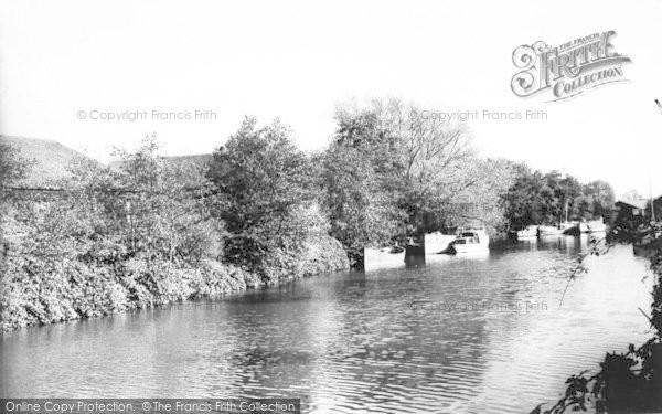 Photo of Tonbridge, The River c.1960