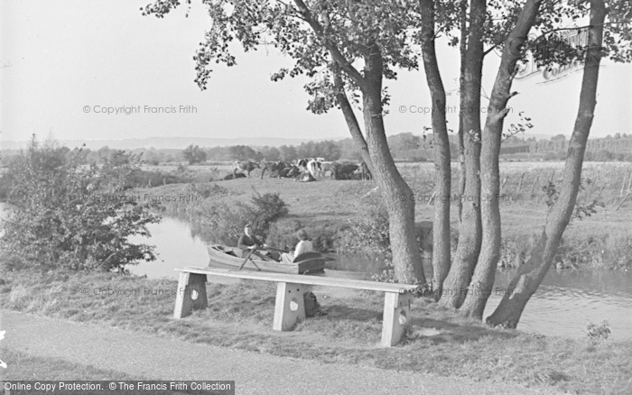 Photo of Tonbridge, The River Medway 1948