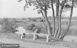The River Medway 1948, Tonbridge