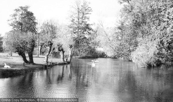 Photo of Tonbridge, The River Walk c.1960