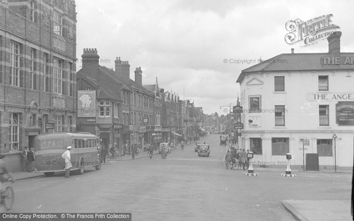 Photo of Tonbridge, View From The Bridge 1948