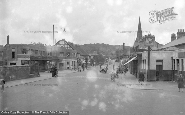 Photo of Tonbridge, View From The Station 1948