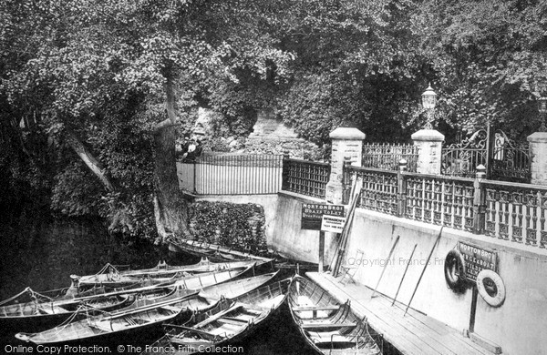 Photo of Tonbridge, Water Gates 1890