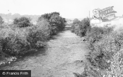 Tondu, The River c.1965