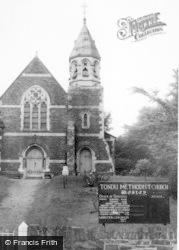 Tondu, Wesley Methodist Church c.1965