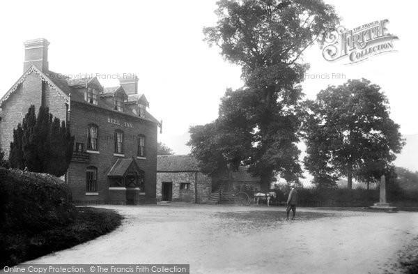 Photo of Tong, Bell Inn 1902