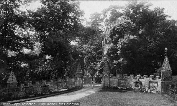 Photo of Tong, Castle Entrance 1898