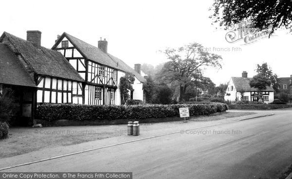 Photo of Tong, Church Farm c.1955
