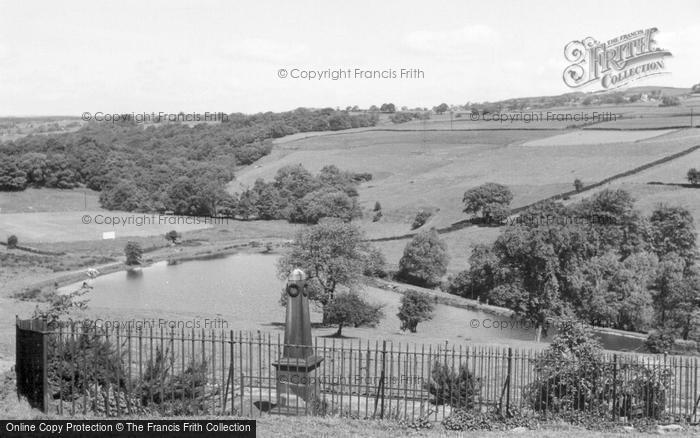 Photo of Tong Park, War Memorial And Reservoir c.1955