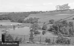 War Memorial And Reservoir c.1955, Tong Park