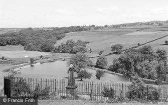 Tong Park, War Memorial and Reservoir c1955