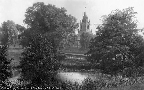 Photo of Tong, St Bartholomew's Church 1902