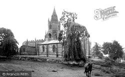 St Bartholomew's Church c.1955, Tong