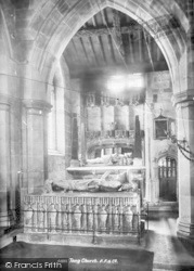 St Bartholomew's Church Interior 1898, Tong