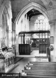 The Church Interior c.1950, Tong