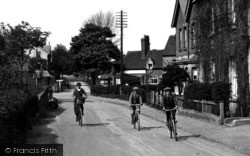 Tongham, Cyclists 1921