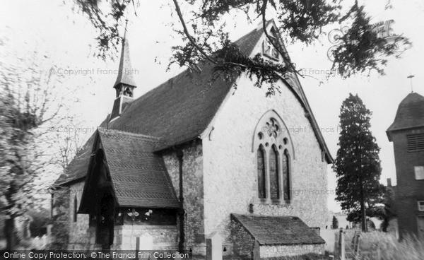 Photo of Tongham, Parish Church Of St Paul c.1965