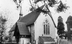 Tongham, Parish Church Of St Paul c.1965
