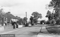 Tongham, Poyle Road c.1960